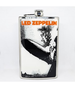 "Фляга стальная ""Led Zeppelin"" 10 oz"
