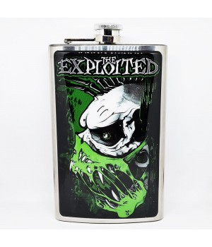 "Фляга стальная ""The Exploited"" 10 oz"
