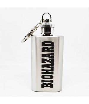"""Фляжка-брелок """"Biohazard"""" 2 oz"""