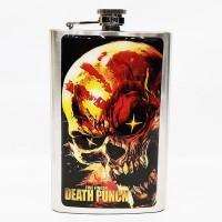 "Фляга стальная ""Five Finger Death Punch"" 10 oz"