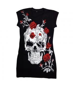 "Туника ""Skull Roses"""
