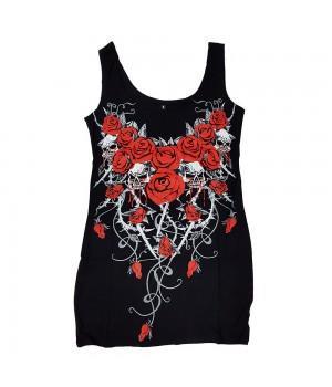 "Платье ""Bloody Roses"""