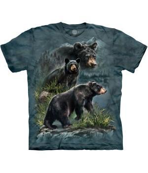 "Футболка ""Three Black Bears"""