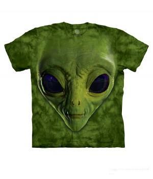 """Футболка """"Green Alien Face"""""""