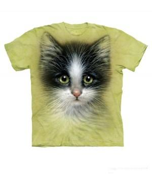 "Футболка ""Green Eyed Kitten"""