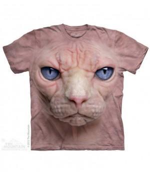"Футболка ""Hairless Pussycat Face"""