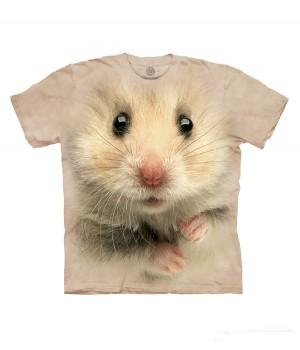 "Футболка ""Hamster Face"""