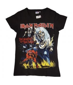 "Футболка женская ""Iron Maiden"""