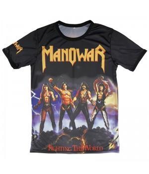 "Футболка ""Manowar (Fighting The World)"""