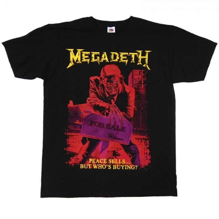 """Футболка """"Megadeth"""" (5380)"""