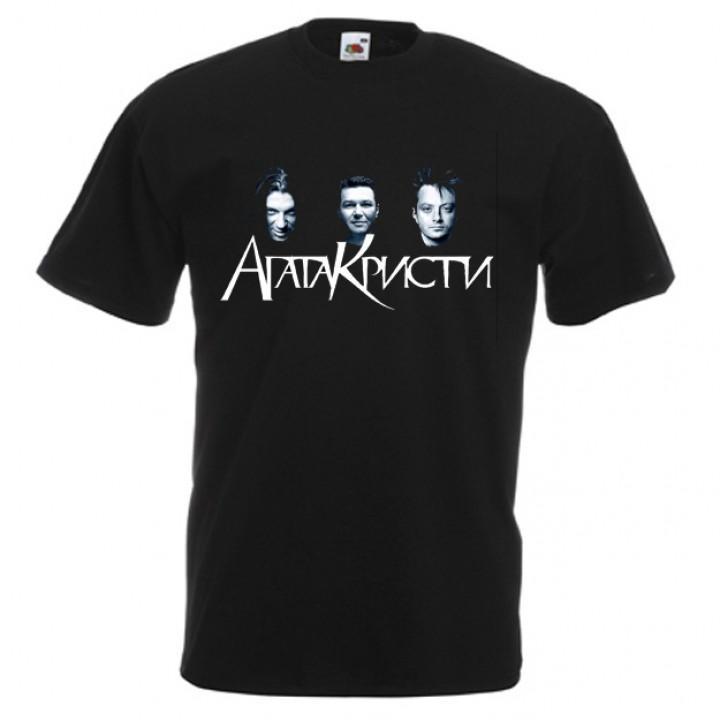 """Футболка """"Агата Кристи"""" (529)"""