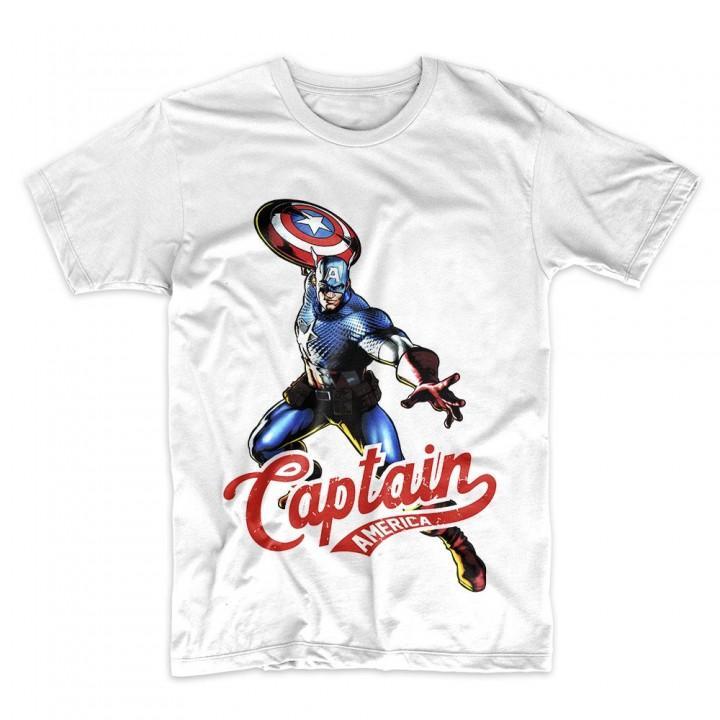 "Футболка ""Captain America (Капитан Америка)"" (7941)"