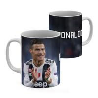 "Кружка ""Juventus, Ronaldo (Ювентус)"""