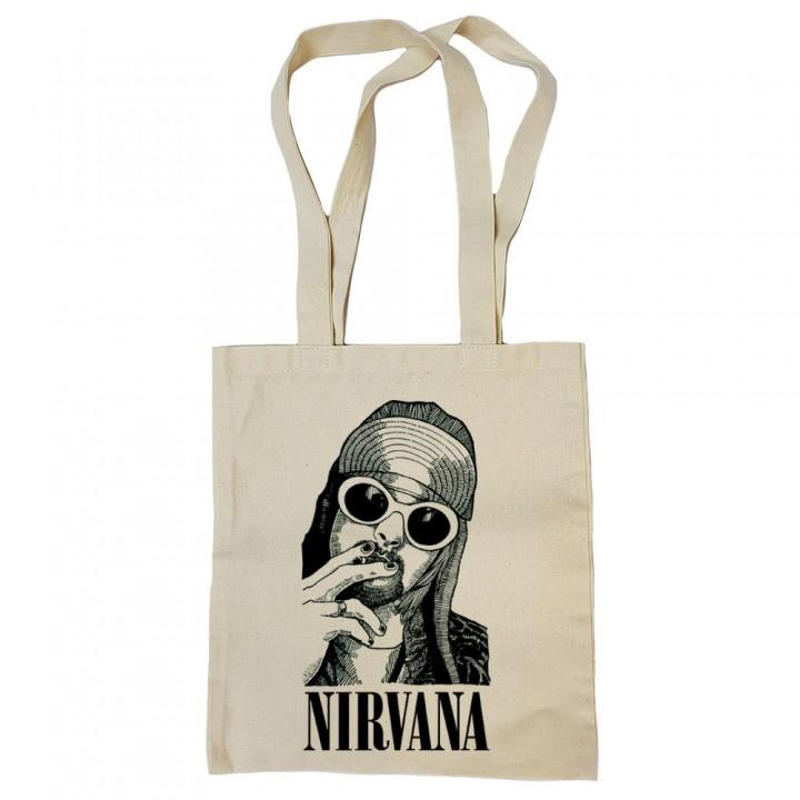 "Сумка-шоппер бежевая ""Nirvana"" (16344)"