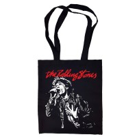 "Сумка-шоппер ""The Rolling Stones"" черная"