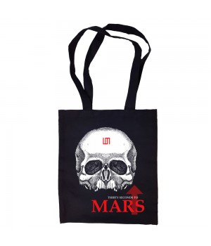 "Сумка-шоппер ""30 Seconds To Mars"" черная"