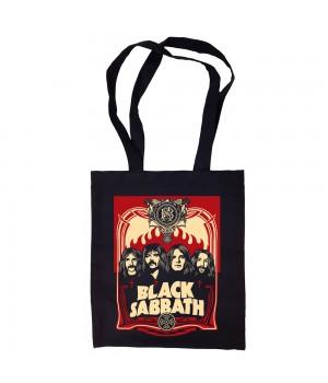 "Сумка-шоппер ""Black Sabbath"" черная"