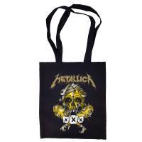 """Сумка-шоппер """"Metallica"""" черная"""