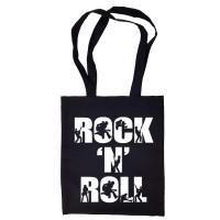 "Сумка-шоппер ""Rock 'n' Roll"" черная"