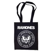 """Сумка-шоппер """"Ramones"""" черная"""