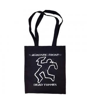"""Сумка-шоппер """"Agnostic Front"""" черная"""