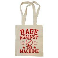 "Сумка-шоппер ""Rage Against the Machine"" бежевая"