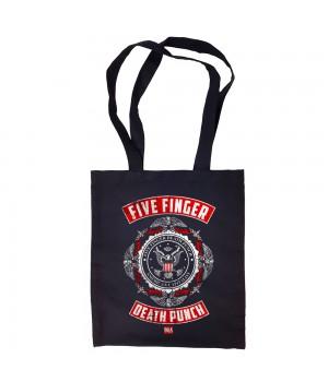 "Сумка-шоппер ""Five Finger Death Punch"" черная"