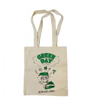 """Сумка-шоппер """"Green Day"""" бежевая"""