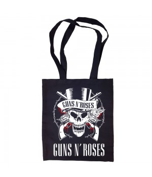 """Сумка-шоппер """"Guns N' Roses"""" черная"""