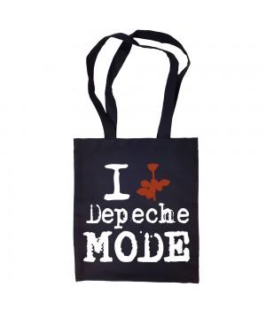 "Сумка-шоппер ""Depeche Mode"" черная"