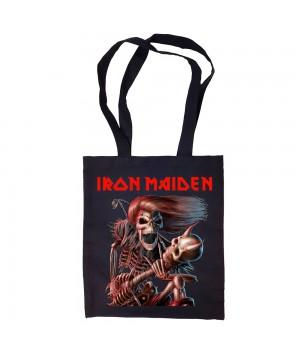 "Сумка-шоппер ""Iron Maiden"" черная"
