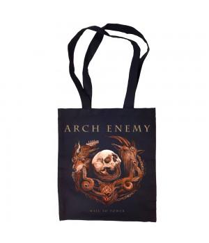"Сумка-шоппер ""Arch Enemy"" черная"