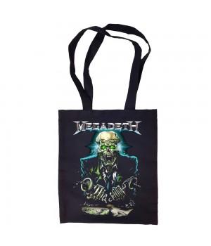"Сумка-шоппер ""Megadeth"" черная"