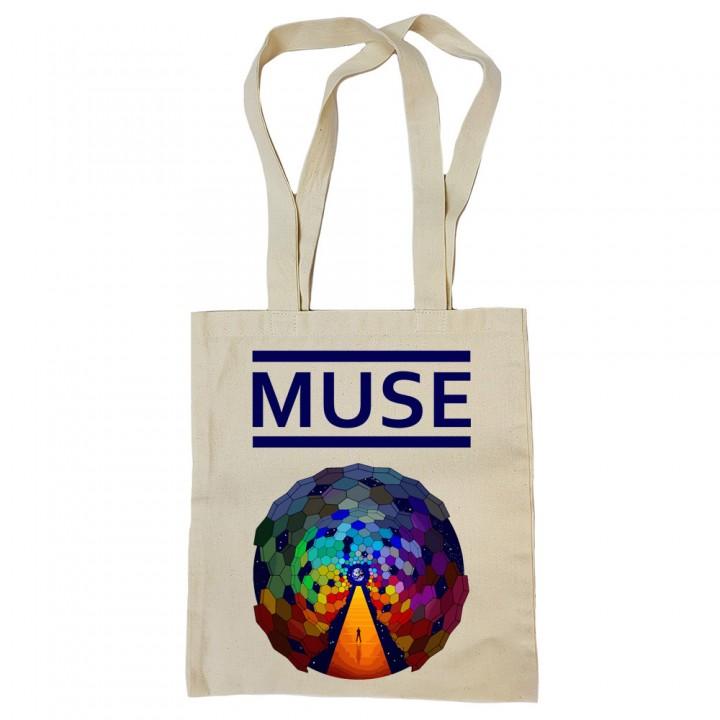 """Сумка-шоппер бежевая """"Muse"""" (16589)"""
