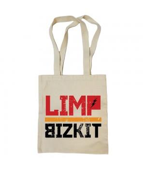 "Сумка-шоппер ""Limp Bizkit"" бежевая"