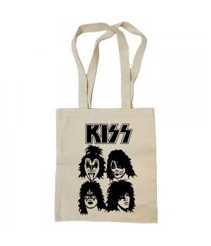 "Сумка-шоппер ""Kiss"" бежевая"