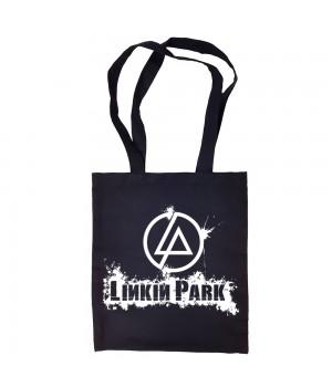 "Сумка-шоппер ""Linkin Park"" черная"