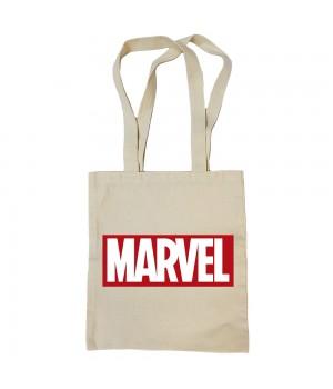 """Сумка-шоппер """"Марвел"""" бежевая"""