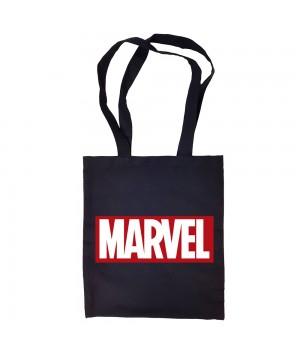 "Сумка-шоппер ""Марвел"" черная"