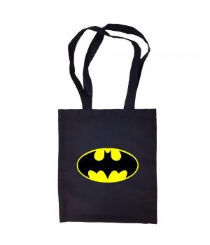 """Сумка-шоппер """"Batman (Бэтмен)"""" черная"""