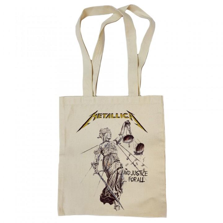 "Сумка-шоппер бежевая ""Metallica"" (16699)"