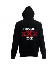 """Толстовка с капюшоном """"Straight Edge"""""""