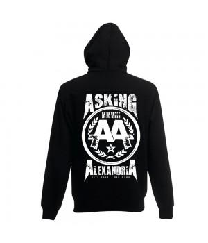 """Толстовка с капюшоном """"Asking Alexandria"""""""