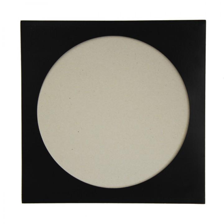 """Конверт бумажный черный для виниловых пластинок (LP 12"""" Picture Disc) (внешний)"""