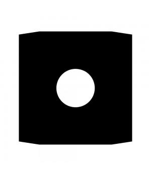 """Конверт бумажный черный для виниловых пластинок (LP 12"""") (внутренний)"""
