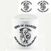 """Копилка """"Sons of Anarchy (Сыны анархии)"""""""