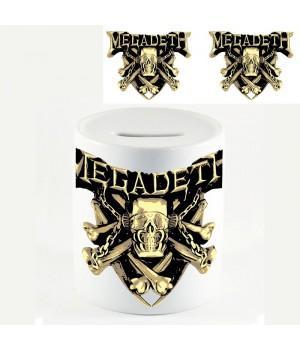 """Копилка """"Megadeth"""""""