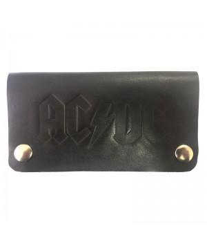 """Кошелек кожаный """"AC/DC"""""""