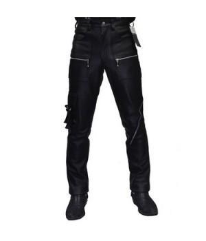 Брюки кожаные First мужские М-8010 RIGBOY