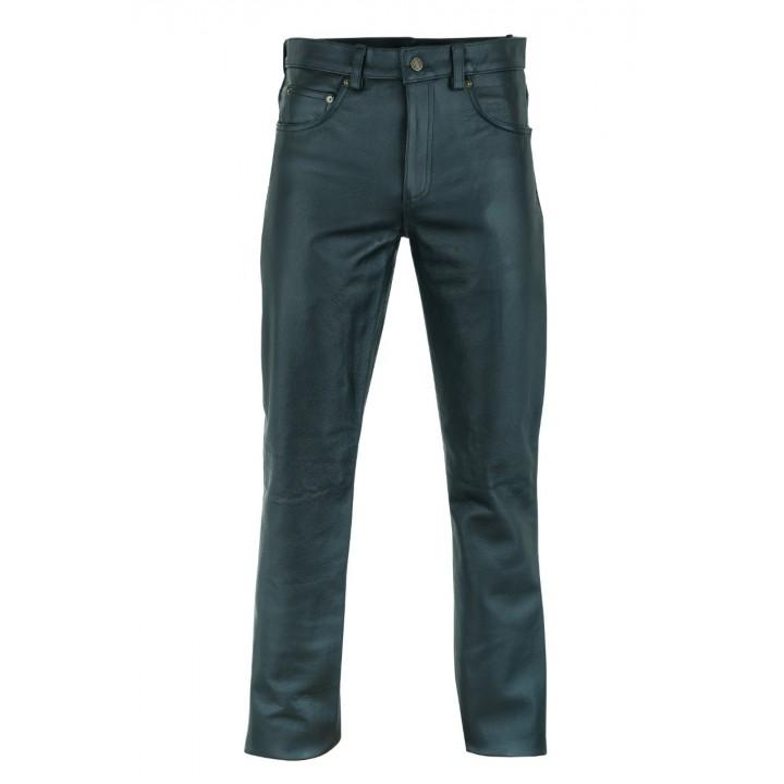 Брюки кожаные First мужские М-8025 CC (1577)